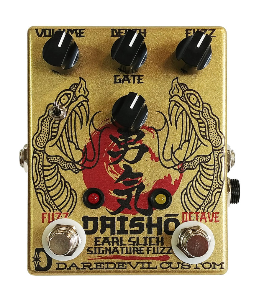 Daredevil Daisho – Sygnowany Efekt gitarowy Earl Slicka – Octave Fuzz