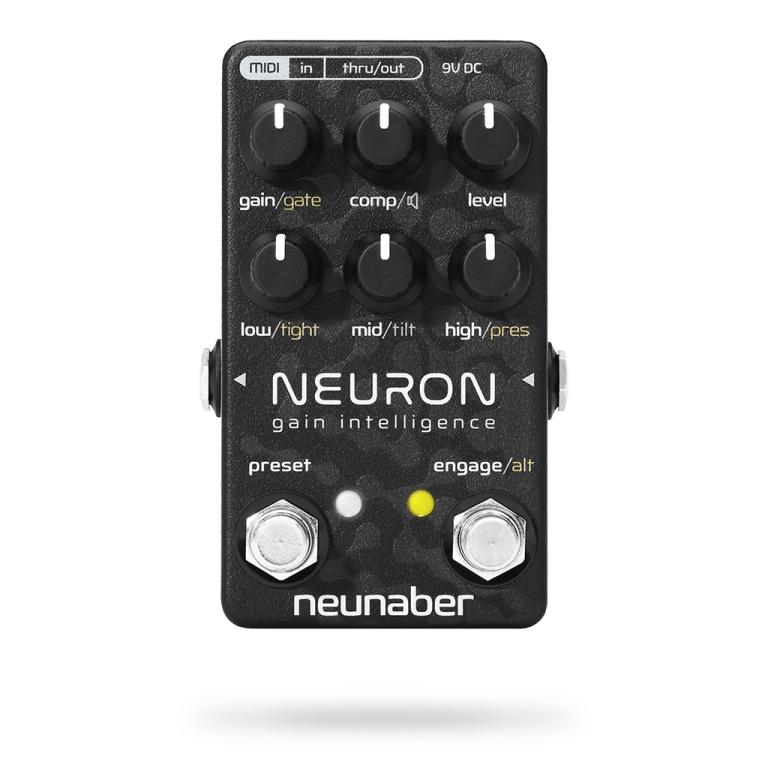 Preamp gitarowy Neunaber Neuron – Inteligentny Gain