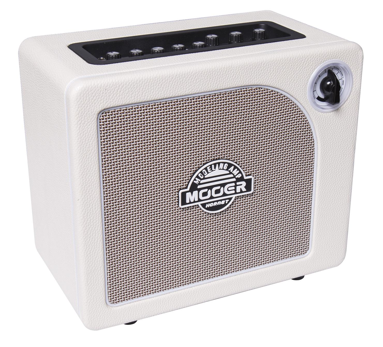 Mooer Audio Hornet White Modeling Amp – na Gitarę Elektryczną, Akustyczną i Basową